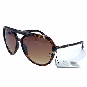 EASON EYEWEAR Fashion Sunglasses Brown Eye Frame